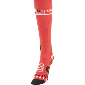 Compressport V2 Full Socks Red